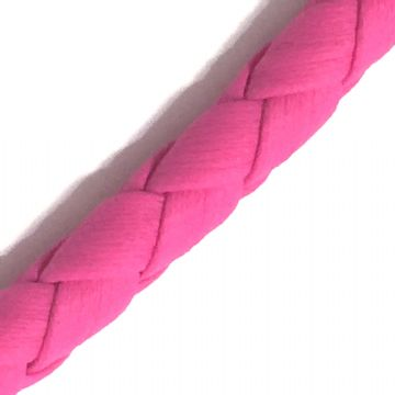 3mm synthetic soft leather cord for jewellery making - 100cm - Fuchsia pink